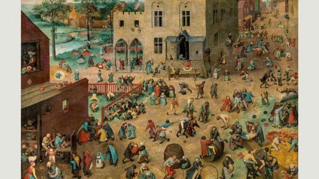"""""""Juegos para niños"""" (1560)."""