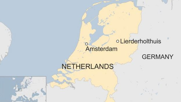 Map Of Germany And The Netherlands.Rise In Wolf Attacks Alarms Dutch Sheep Farmers Bbc News
