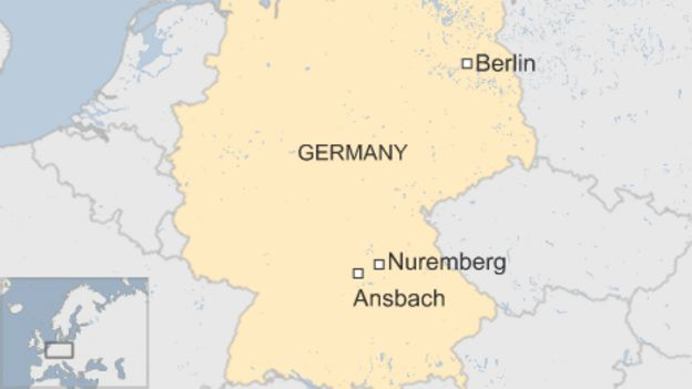 Ansbach explosion: Syrian asylum seeker blows himself up in