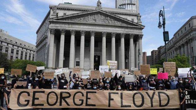 Protesta en EE.UU. por la muerte de George Floyd