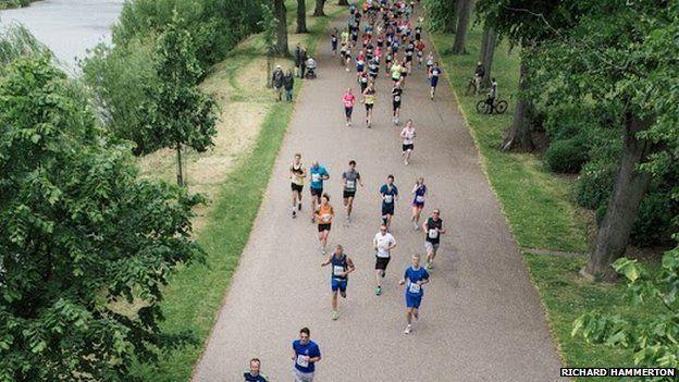 Shropshire Half Marathon