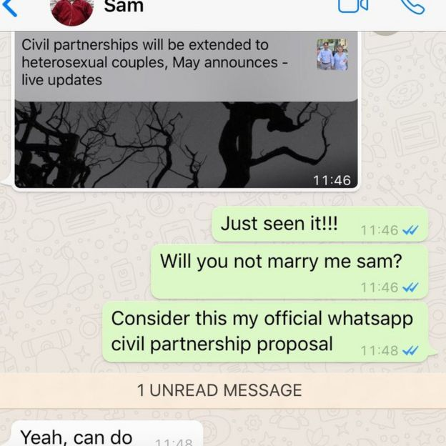 Heterosexual marriage means to me