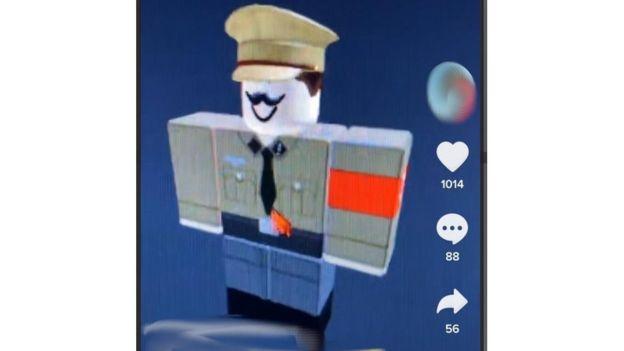 Hitler roblox character