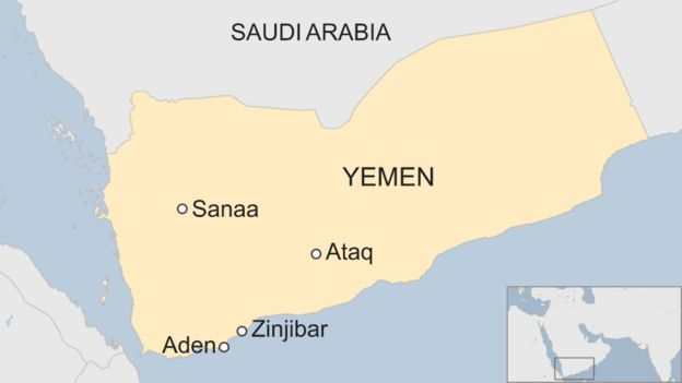 Yemen war: Government forces re-enter key city of Aden - BBC ...
