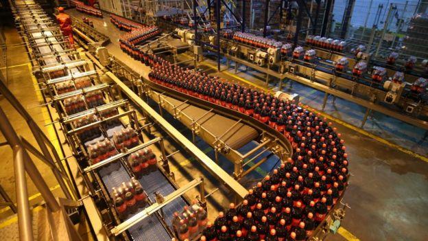Завод Coca-Cola в районе Санкт-Петеорбурга