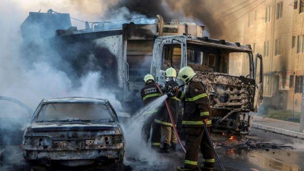 البرازيل تنشر قوات الجيش في مدينة فورتاليزا لوقف حرق ونهب المتاجر والمصارف