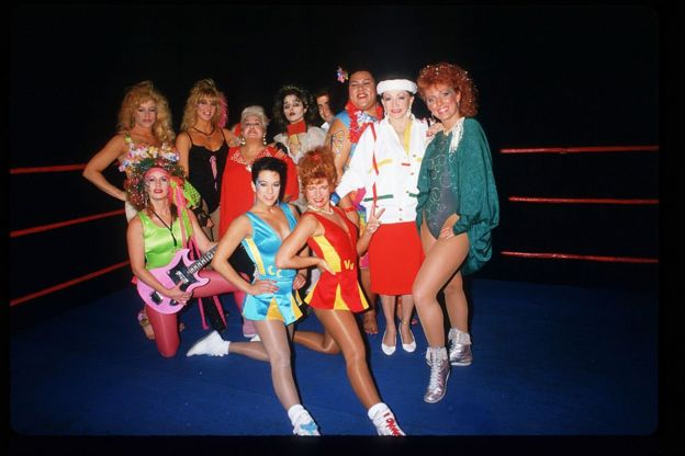 Jackie Stallone and the Gorgeous Ladies of Wrestling