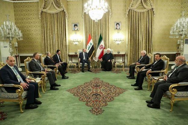 برهم صالح در ایران