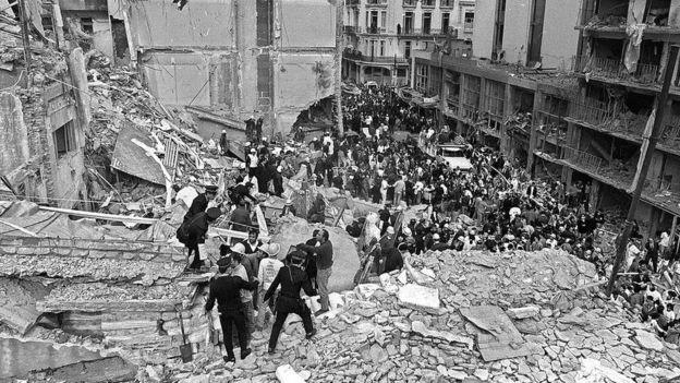 بمبگذاری مرکز یهودیان آمیا در آرژانتین