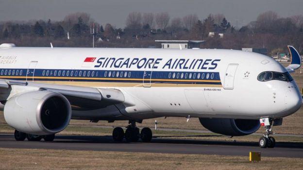 طائرة إيرباص للخطوط الجوية السنغافورية