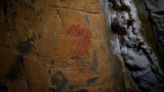 Pinturas rupestres encontradas na Espanha