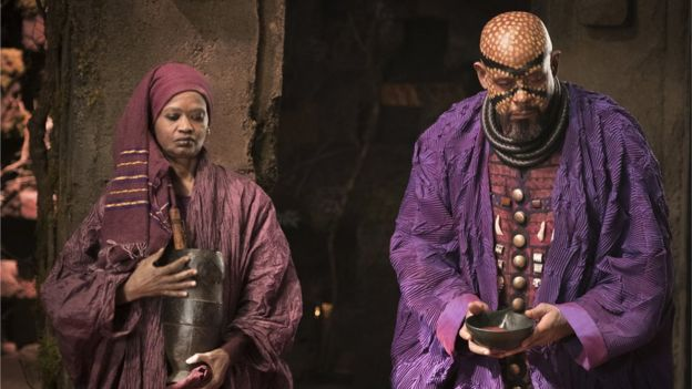 Forest Whitaker (right) in Black Panther