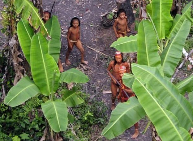 Índios não contatados no Acre