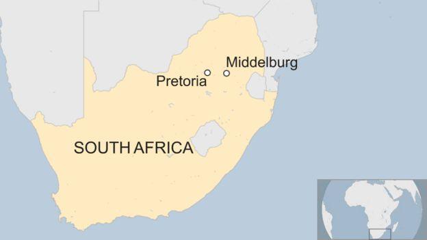 South Africa Gloria coal mine explosion 'kills six' - BBC News