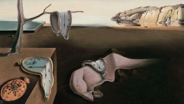 """""""La persistencia de la memoria"""", Dalí."""