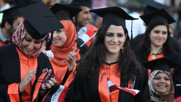 طلبة عراقيون
