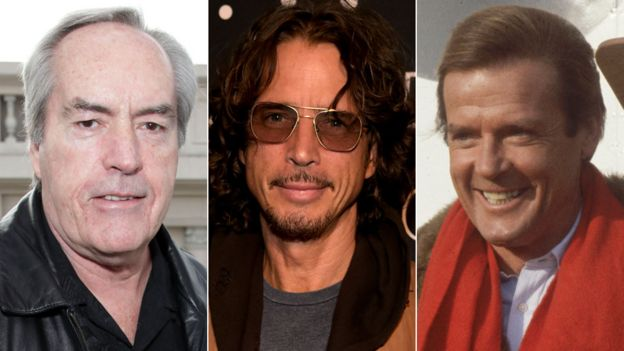 Powers Boothe, Chris Cornell and Roger Moore