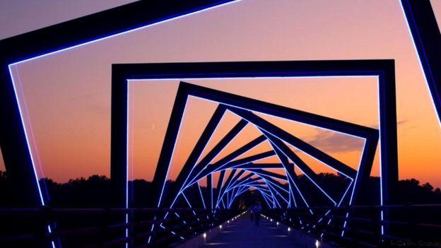 Мост Хай-Трестл-Трейл, США