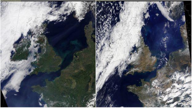 Diferencias entre mayo y julio en Reino Unido