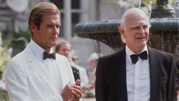 Roger Moore in Live and Let Die