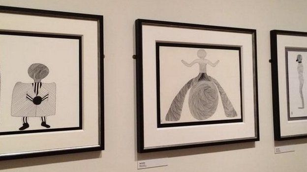 Billy Connolly's artwork