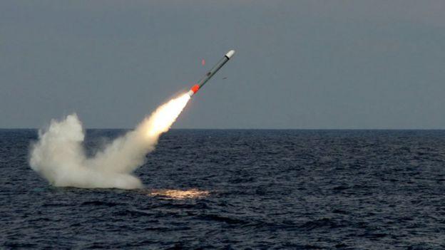 Siria: mira la secuencia del bombardeo de USA con misiles Tomahawk