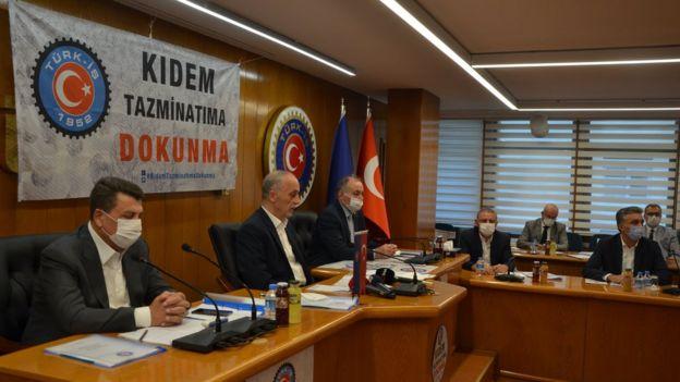 Türk-İş Başkanlar Kurulu toplantısı