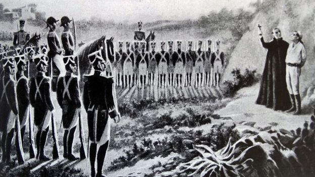 bandera de hidalgo 1810