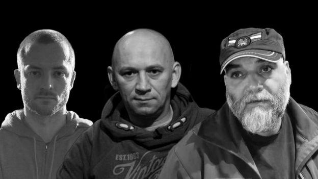 Kirill Radchenko, Alexander Rastorguyev e Orkhan Dzhemal