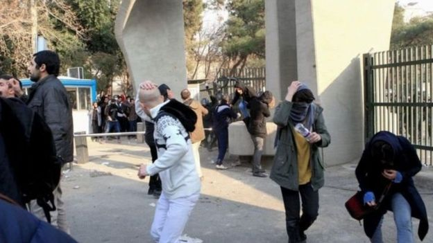 اعتراضات ایران