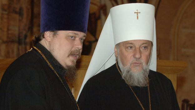 Митрополит Александр и Всеволод Чаплин