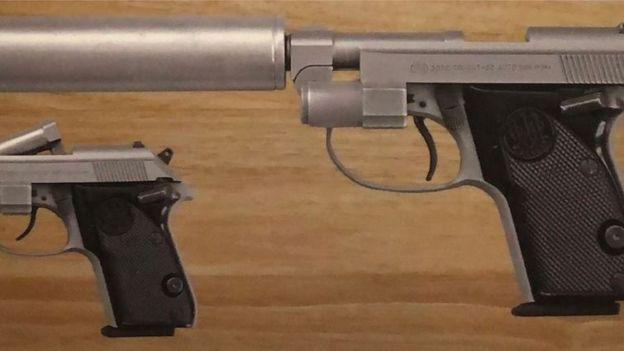 Beretta Tomcat pistol