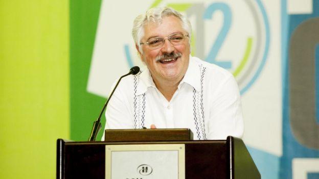 Julián de Zubiría (Photo: courtesy Julián de Zubiría)