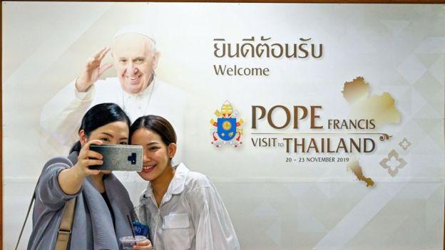 Giới trẻ Thái Lan chờ đợi được diện kiến Giáo Hoàng