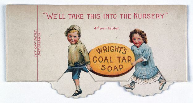 Propaganda de jabón Wright's