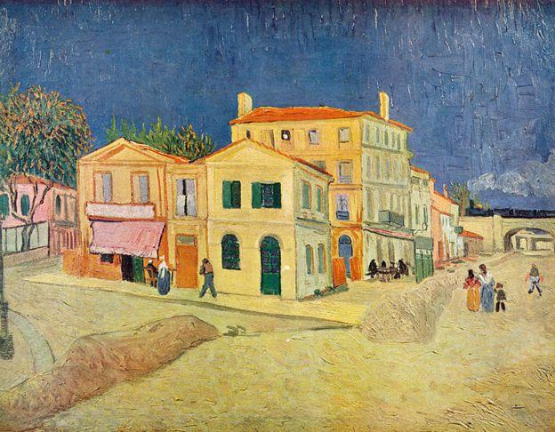 """""""A Casa Amarela"""", de Vincent van Gogh"""