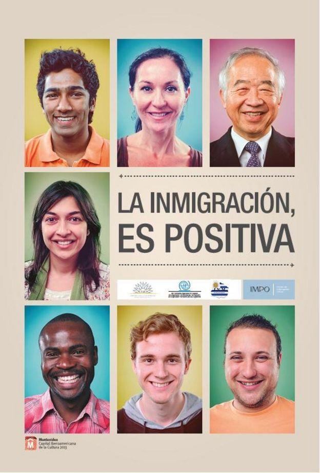 Poster inmigración Uruguay