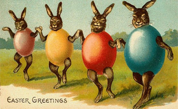 The odd world of Victorian Easter cards BBC News – Easter Cards
