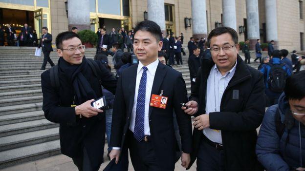 京都創辦人劉強東早前在美國因涉及性侵案被捕,其後獲釋。