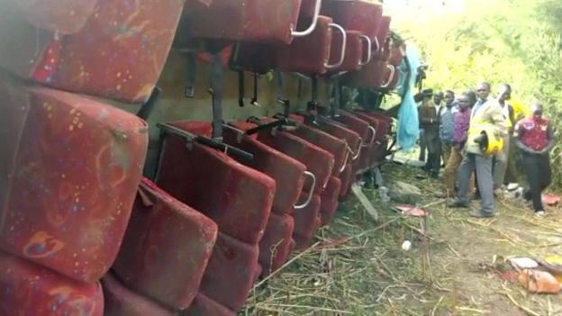 Update: Bus accident in Kenya claims at least 50 lives