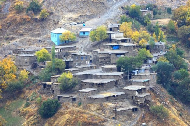احدى قرى بدليس