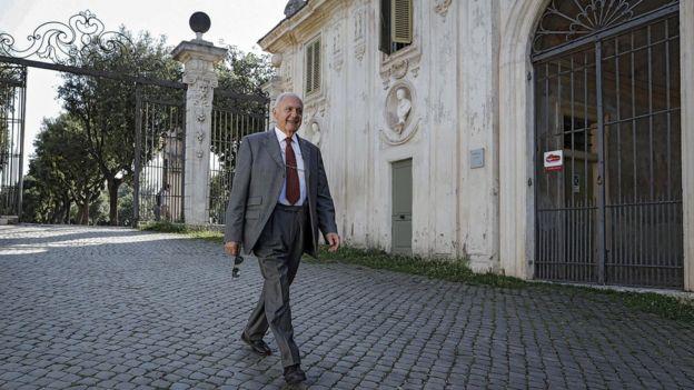 パオロ・サボーナ氏は強硬な反EU姿勢で知られる