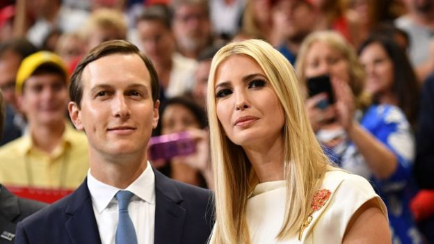 Kushner y su mujer