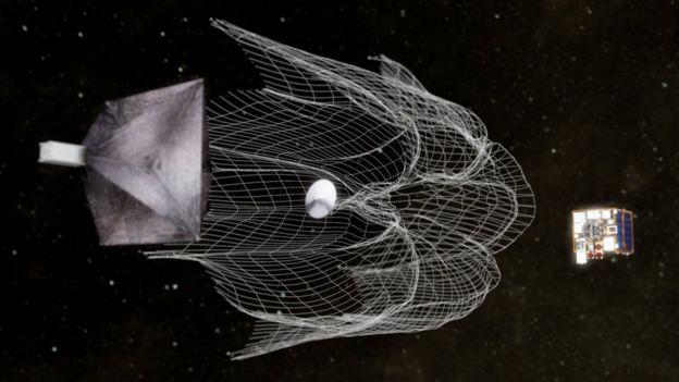 Spacecraft animation