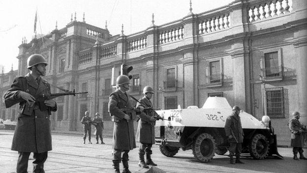 Palacio de la Moneda en Chile