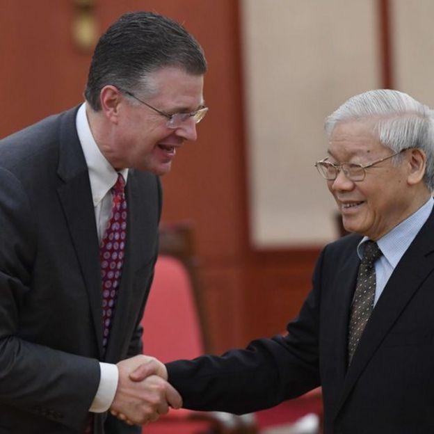 Daniel J. Kritenbrink và Nguyễn Phú Trọng