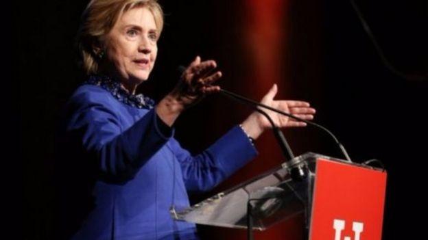 Bà Clinton nói ông Clomey có vai trò khiến bà bị thất bại