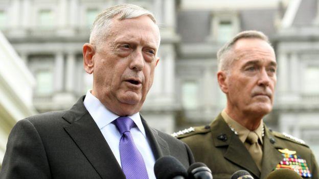 Habla el general James Mattis