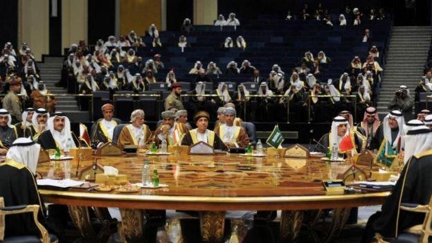 2017'de Kuveyt'te yapılan Körfez İşbirliği Konseyi Zirvesi