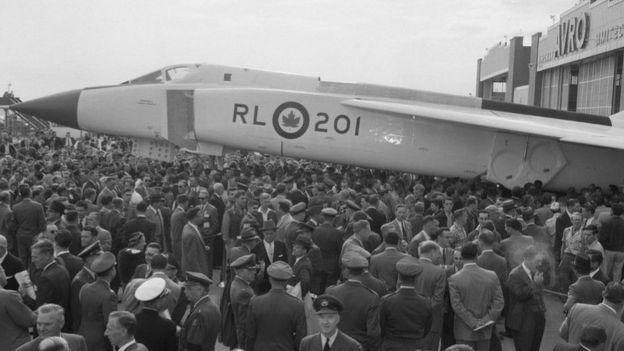 """أصبحت الطائرة """"أرو""""مصدر فخر واعتزاز للكثير من الكنديين"""
